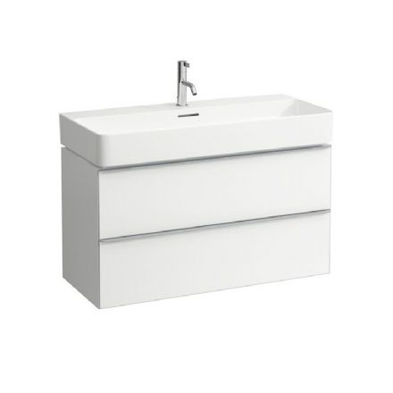 810287 - Laufen Val 950mm x 420mm Washbasin & Space Vanity Unit - 8.1028.7